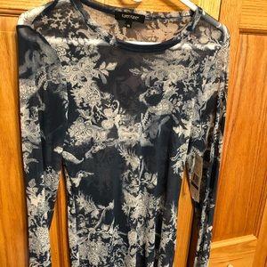 Karen Kane mesh t shirt.